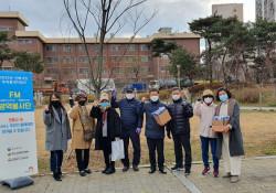[사회참여]선배시민자원봉사단 '우리동네 지킴이' 생활방역 캠페인 활동